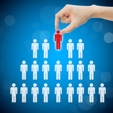 Select person career to work job photo