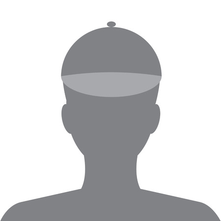 profile picture: Kid Avatar internet social profile. Vector
