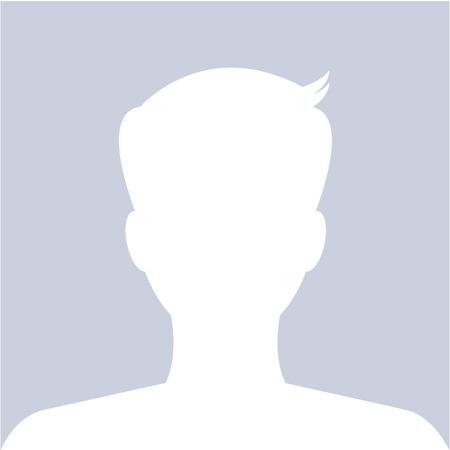 Perfil avatar masculino uso de imagen para el sitio web social. Vector.
