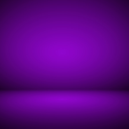 Abstract room interior purple background