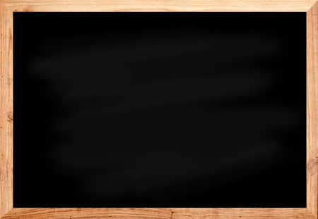 Wood blackboard in black color space for text photo