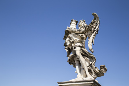 angelo: Ponte Sant'Angelo. Rome, italy Stock Photo