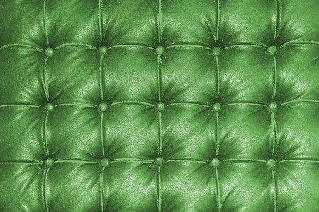 textures: Old Vintage-grünen Ledersessel Nahaufnahme Detail