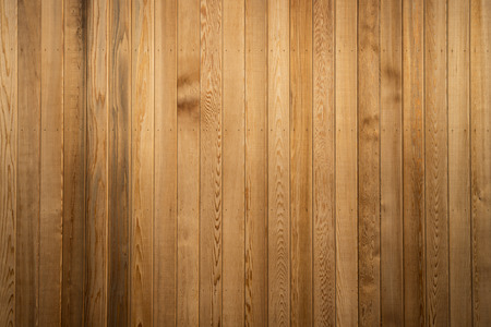 wood wall texture: Big Brown wood plank wall texture background Stock Photo