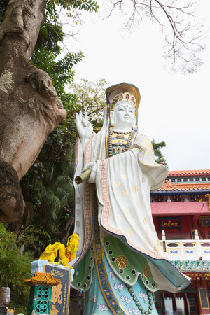 repulse: Kwum Yam Shrine is a Taoist shrine at the southeastern end of Repulse Bay