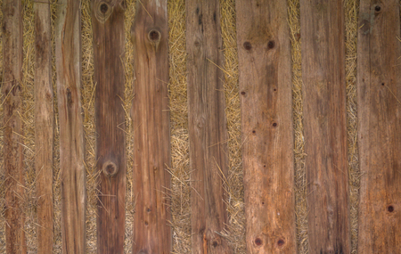 Wooden hay barn rack texture closeup. Фото со стока