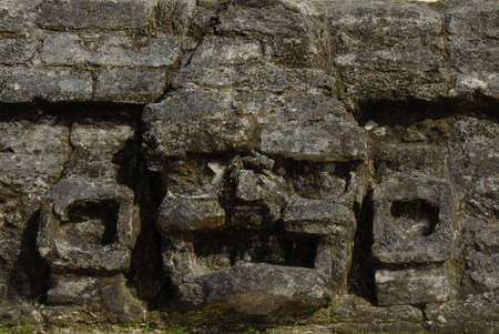 tourism in belize: Mayan ruins Stock Photo