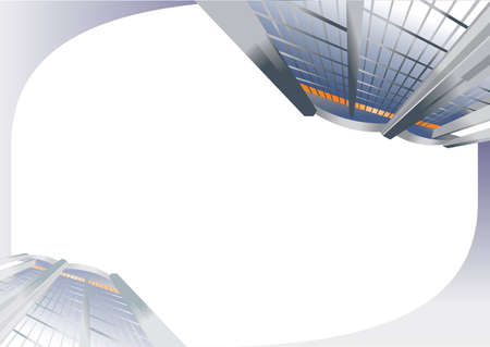 enclosed: Architectural background, scalable vector graphics, format is enclosed