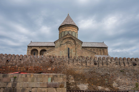 11th: The Svetitskhoveli Cathedral from the 11th century