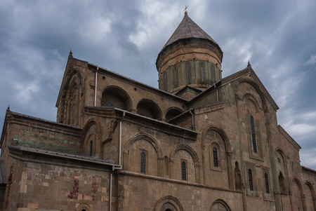 11th century: The Svetitskhoveli Cathedral from the 11th century, Georgia