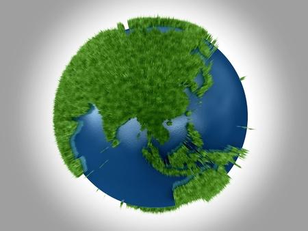 Green Planet - Asia Oceania Australia