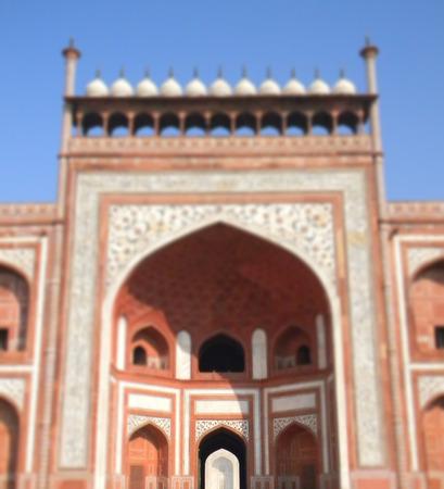 love dome: Taj Mahal main gate architectural details