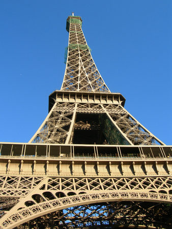 french culture: Eiffel Tower in Paris, France