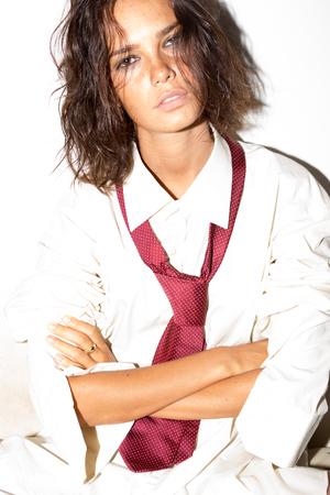 lesbian sexy: Model portrait Stock Photo