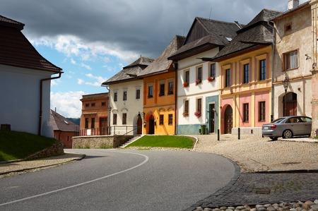 Ancient Slovak city Spisska Sobota Poprad Stock Photo - 1480358