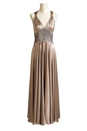 spangles: Evening dress  Stock Photo