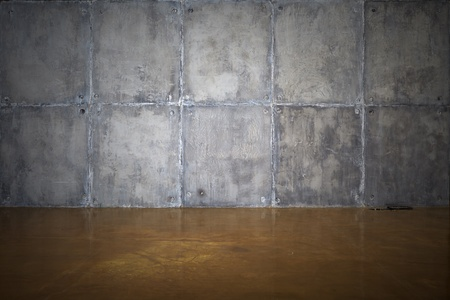 A concrete wall and floor for background Stock Photo - 19910933