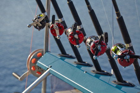 Fishing rods and reels fishing line