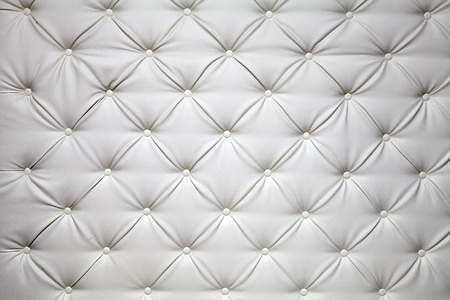 white picture of genuine leather upholstery photo