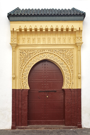 andalusia: Ancient door in the Moorish style. Europe, Spain
