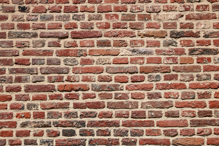 Brick wall old exterior