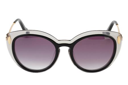 Sunglasses isolated on white background transparent frame