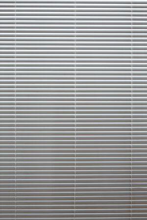 Horizontal background blinds white aluminum back light gradient
