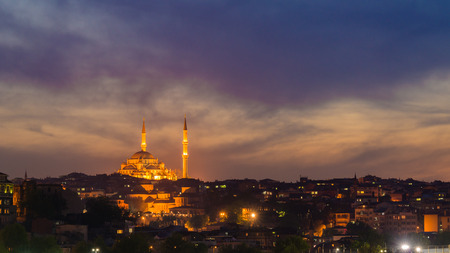 Twilight in Istanbul photo