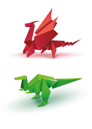 Origami Origami Dragon Origami Dinosaur Origami Dragon And