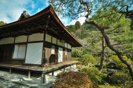 銀閣寺、京都、日本