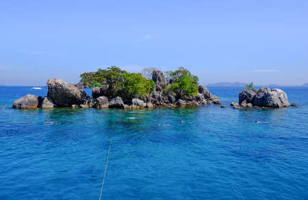 trad: Group of Chang island in Trad province, Thailand