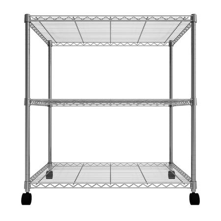 metal rack Stock Photo