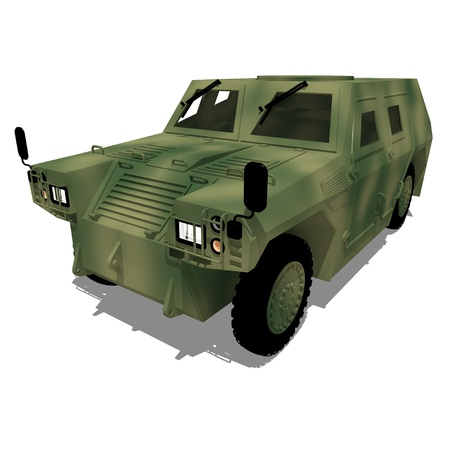 armored: Light Armored Vehicle Stock Photo