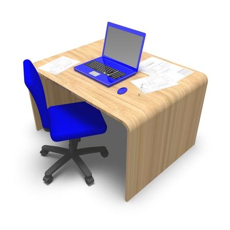 desk work Stock Photo - 11119076