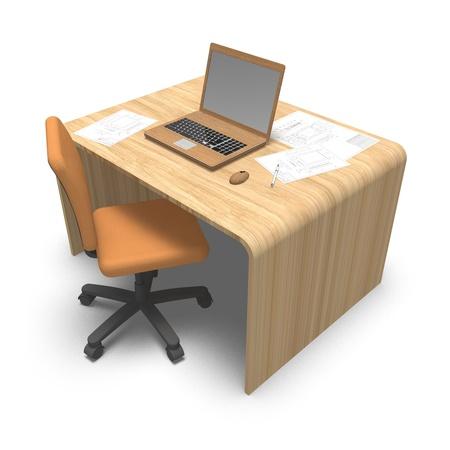 desk work photo
