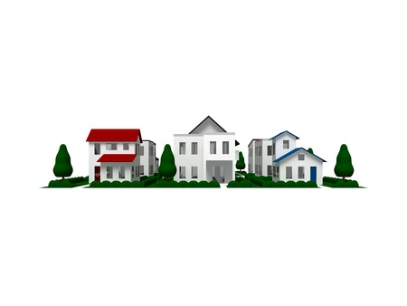 Residential area Stock Photo - 11772787