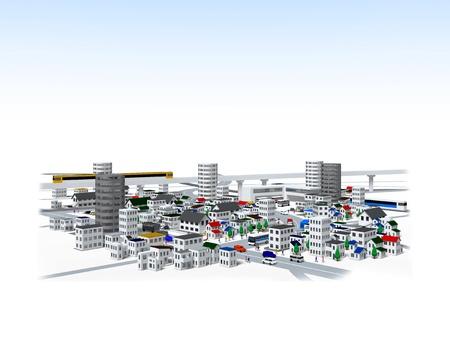 render residence: city