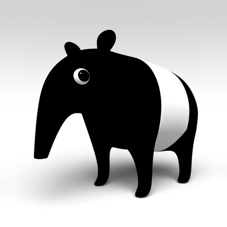 Tapir Stockfoto