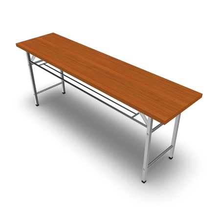 Folding desk Stock Photo