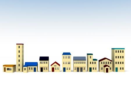 Town Stock Photo - 14394969