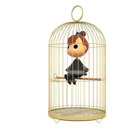 shiniyon: In the cage