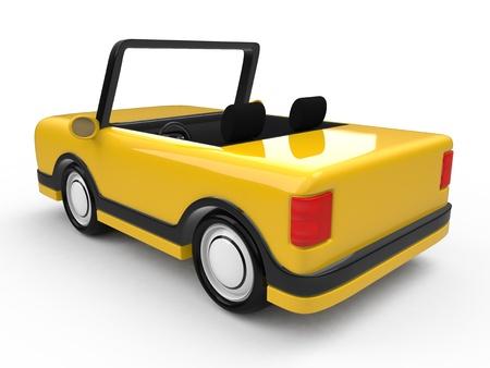 fictional: Fictional car Stock Photo