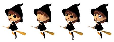 Witch Stockfoto