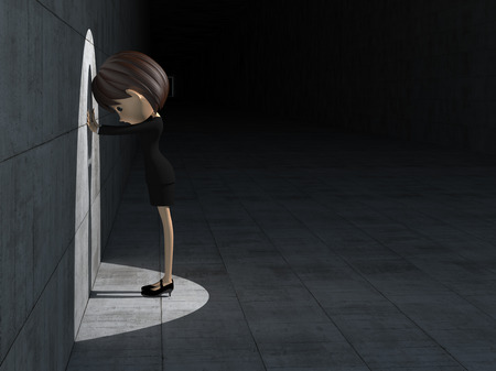 Businesswoman to be discouraged