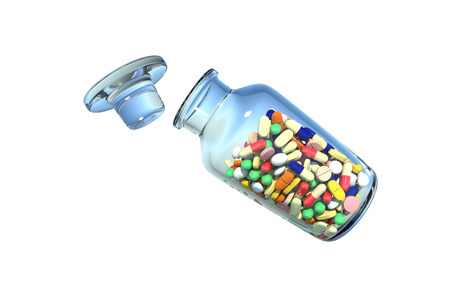 Medicine which was in the bottle photo