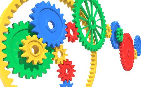 deceleration: Colorful Gears