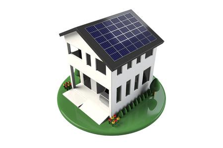 Solar home photo