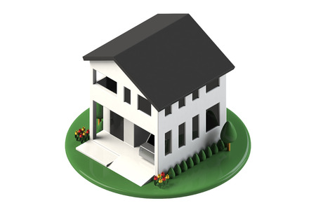 garage on house: House with a garage
