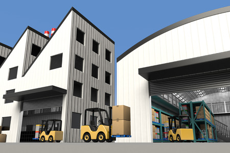 Factory and warehouse