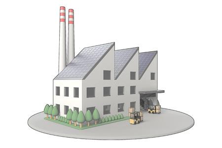 工場 写真素材